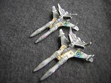 Battletech / Aerotech Ral Partha Samurai SL-25 Fighters x2 - Unseen, Metal (1)
