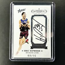 2019 Select Supremacy ERIC HIPWOOD Franchise Future Signatures 68/70