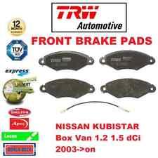 FOR NISSAN KUBISTAR Box Van 1.2 1.5 dCi 2003->on FRONT AXLE BRAKE PADS SET