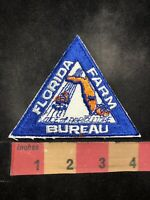 Vtg As-Is-Bad-Stitching FLORIDA FARM BUREAU Patch Voice Of Agriculture 95X4