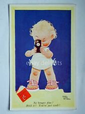 MABEL LUCIE ATTWELL cine camera Valentine's postcard vecchia cartolina