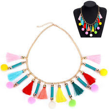 Beads Tassels Fashion Multicolor Jewelry Necklaces Choker Collar Necklace