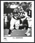 O.J. Anderson #24 Vintage Signed Official New York Giants 8x10 Photo. SB XXV MVP