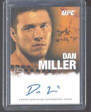 2010 TOPPS UFC AUTOGRAPH DAN MILLER - MINT!