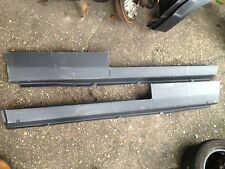 Ford Escort Mk3 Mk4 VAN FULL PAIR of OUTER SILL PANELS with  Door Steps 1980-90