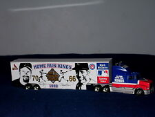 1998 McGWIRE & SOSA HOME RUN KINGS DIECAST T/T LE #668 OF 2500