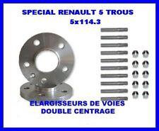 ELARGISSEUR DE VOIES 20 mm 5x114.3 RENAULT MEGANE 3 RS