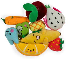 Fruit shaped catnip plushie toy 1pc, toys for cats