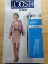 Jobst Opaque 115504 Thigh High 15-20 mmHg Compression Stockings  Black SMALL NEW
