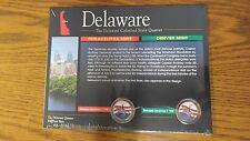 1998 P/D Delaware Colorized State Quarters The American Historic Society/w COA