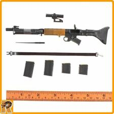 German FG42 Machine Gun Set -1/6 Scale - New in Box ZY Toys Action Figures