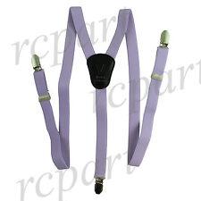 New in box Kid's Boy's Vesuvio Napoli Suspenders Braces clip on lavender party