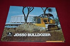 John Deere 550 Crawler Bulldozer Dealer Brochure YABE11