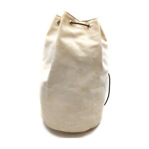 Hermes Shoulder Bag  Beiges Canvas 1534393