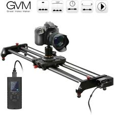 "Camera Slider, GVM 31"" Motorized DSLR Camera Track Dolly Slider Video Stabilizer"