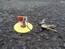 5 Redsretros multi magnetic targets on keyring, ideal for Leica Total Stations
