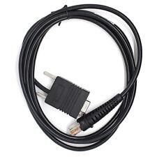 6 ft (approx. 1.83 m) Cable serie RS232 para Honeywell 3800G 4600G 4620G 4820G Escáner De Código De Barras