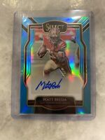 2018 Panini Select Matt Breida SP Auto #30/49