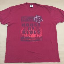 HOUSE OF BLUES New Orleans One Soul Livin The Blues 2XL XXL T-Shirt
