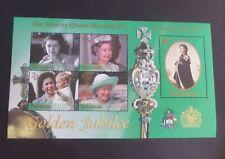 Bahamas 2002 Golden Jubilee MS Miniature Sheet MNH UM unmounted mint