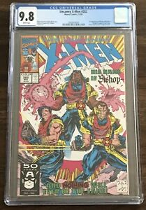 CGC 9.8 UNCANNY X-MEN #282 1st Appearance of BISHOP Malcolm Randall Marvel 1991