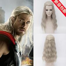 The Avengers / Thor / Hellblond Gewellt Rollenspiel Perücke Cosplay Wig