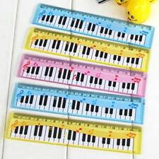 Plastic Straight Measuring Rulers 2 Piece/Set Piano Pattern Cute Modern Material