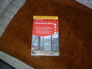 marco polo freizeitkarte- Wanderkarte, Bayrischer Wald