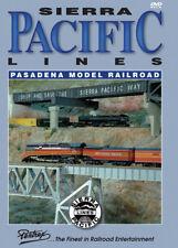 Sierra Pacific Lines Pasadena Model Railroad DVD Pentrex HO Gauge model trains