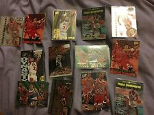 * tricolor Pippen NBA Trading Cards Topps Upper Deck Fleer Ultra Aros Raro X 13 *