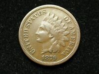 2021 SALE!!  SEMI KEY 1879 VF+ INDIAN HEAD CENT PENNY w/ PARTIAL LIBERTY #33w