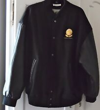 Frito-Lay Best Herman Lay Award 2000 Black Leather/Wool Letterman's Jacket XL