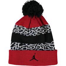 Nike Jordan Jumpman23, Youth - Boys Black/Red Pattern Bobble Hat