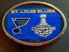 St. LOUIS BLUES   2019 STANLEY CUP Championship Epoxy Buckle