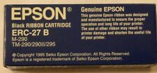 Epson ERC-27 B BLACK original pour M-290 TM-290 290 II 295 genuine ERC27B