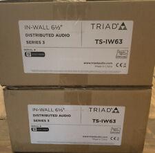 Triad Control4 IW63 In-Wall Speaker Pair Series 3