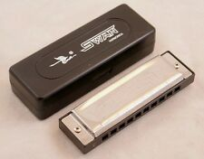 NEW SWAN BLUES POWER DIATONIC BLUES HARMONICA IN THE KEY OF C