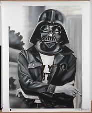 Jules Muck Darth Vader John Lennon Signed MINI Gicee Print Star Wars The Beatles