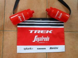 TREK SEGAFREDO CYCLING Team 2 BIDON+MUSETTE 2 Trinkflaschen + Verpflegungsbeutel
