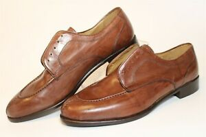 Alfani Mens NEW Size 9.5 M Leather Lace Up Italy Made Oxford Shoes