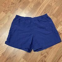 COLUMBIA SIZE M WOMENS PURPLE  NYLON OUTDOOR HIKING SHORTS