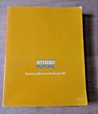 Exploring Dreamweaver Macromedia Studio MX  Handbook