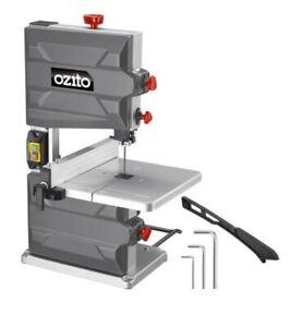 Ozito® 250W 200mm Bandsaw Band Saw Bench Height Tilt Dust Port 3 Year Warranty