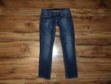 womans size 0 25 Rerock from Express Jeans denim / crop capris