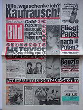 Bild Zeitung, 23.12.1981, Liz Taylor - ScheidungNr 7, Sascha Bogejevich