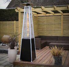 More details for  pyramid patio gas heater outdoor13kw garden fire bbq gril steel metal regulator