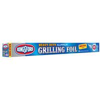 Kingsford 3979994100 Heavy Duty Non-Stick Grilling Foil, Aluminum