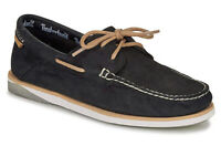 TIMBERLAND MENS ATLANTIS BREAK BOAT SHOE BLACK FULL GRAIN