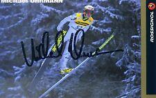 Original Autogramm Skispringer Michael Uhrmann German Ski Team Skisprungtrainer