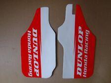Honda Racing fork guard graphics CR125 CR250 CR250R CRF250R CRF450R  1990-2016